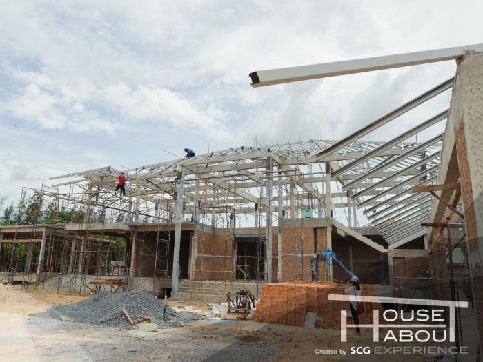 องค์ประกอบและส่วนต่างๆ ของบ้านในงานก่อสร้าง