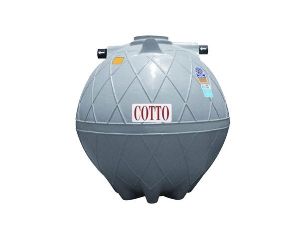 ถังดักไขมันใต้ดิน Cotto รุ่น CNGT/U6000 ขนาด 6000 ลิตร 1