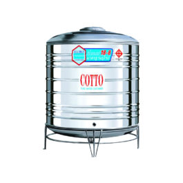CS650 ถังเก็บน้ำสเตนเลส COTTO ทรงเตี้ย ขนาด 650 ลิตร