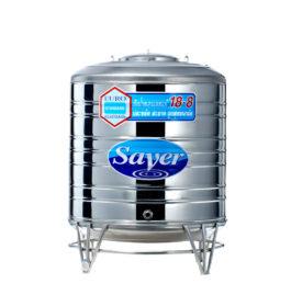 ถังเก็บน้ำสแตนเลส SAVER รุ่น SS650 ทรงเตี้ย ขนาด 650 ลิตร