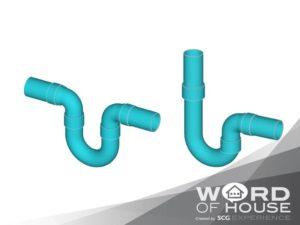 ศัพท์คนสร้างบ้าน U-trap (U-Bend)