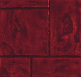 กระเบื้องคอนกรีตปูพื้น เอสซีจี รุ่น แสตมป์เพฟ ลายเอเทนส์ สีแดง