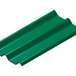 หลังคาไฟเบอร์ซีเมนต์ เอสซีจี รุ่น ลอนคู่ไฮบริด สีเขียว