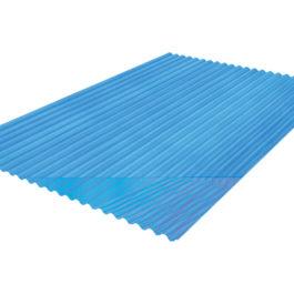 แผ่นโปร่งแสง เอสซีจี ลอนกันสาด 105x300x0.12 ซม. สีน้ำเงิน