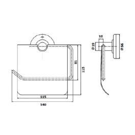 PREMA PM984(HM) ที่ใส่กระดาษทิชชู่
