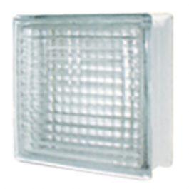 บล็อกแก้ว รุ่น N-001 ประกายแก้ว Small Square 3 นิ้ว