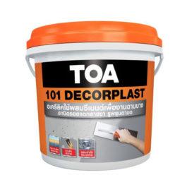 TOA 101 Decorplast ขนาด 1 กล.