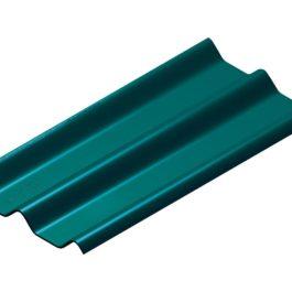 หลังคาไฟเบอร์ซีเมนต์ เอสซีจี รุ่น ลอนคู่ไฮบริด 50x150x0.55 สีเขียวสมุทร