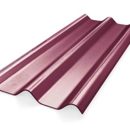 หลังคาไฟเบอร์ซีเมนต์ เอสซีจี รุ่น ลอนคู่ไฮบริด 50x150x0.88 สีม่วงประกายมุก