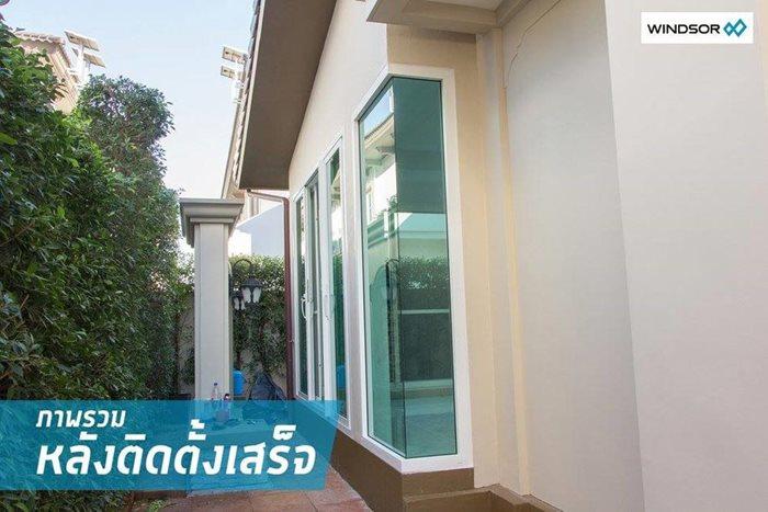 ต่อเติมบ้าน สร้างมุมโปร่งสบาย ด้วยประตู-หน้าต่าง WINDSOR 13