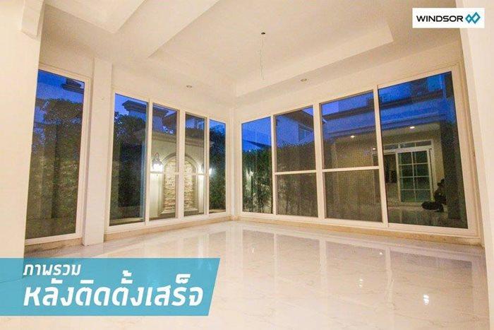 ต่อเติมบ้าน สร้างมุมโปร่งสบาย ด้วยประตู-หน้าต่าง WINDSOR 16