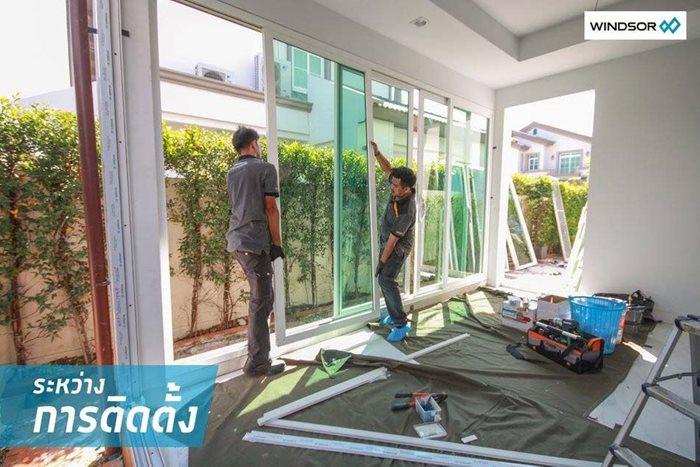 ต่อเติมบ้าน สร้างมุมโปร่งสบาย ด้วยประตู-หน้าต่าง WINDSOR 10