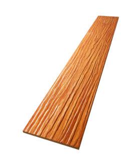 ไม้ฝา เอสซีจี ขนาด 15x300x0.8 ซม. สีสักทองประกายเงา คูลพลัส