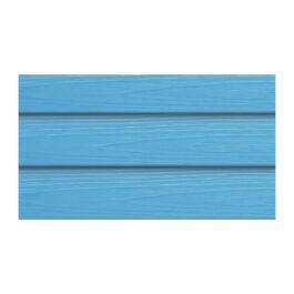 ไม้ฝา เอสซีจี รุ่นมาตรฐาน ขนาด 15X300X0.8 ซม. สีฟ้าใส