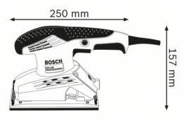 เครื่องขัดกระดาษทราย GSS 230 Bosch 1