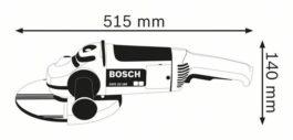 เครื่องเจียร์ 7 นิ้ว GWS 22-180 BOSCH รวมส่ง 1