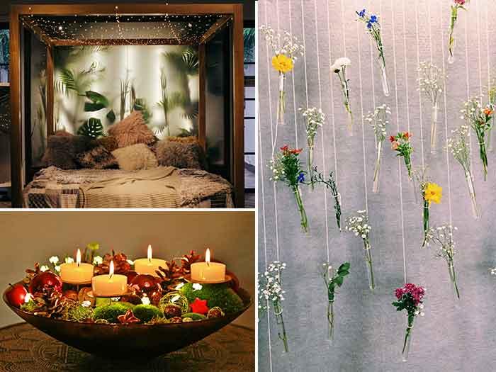 แต่งบ้านต้อนรับวาเลนไทน์ด้วย ดอกไม้ แสงไฟ และแสงเทียน