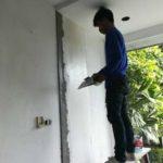 ต่อเติมห้องกระจก ต่อเติมระเบียงหน้าบ้าน ทาสีภายนอก 21