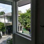 ต่อเติมห้องกระจก ต่อเติมระเบียงหน้าบ้าน ทาสีภายนอก 25