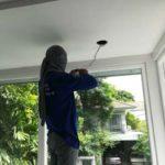 ต่อเติมห้องกระจก ต่อเติมระเบียงหน้าบ้าน ทาสีภายนอก 27