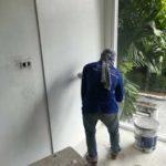 ต่อเติมห้องกระจก ต่อเติมระเบียงหน้าบ้าน ทาสีภายนอก 29