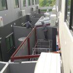 โครงการต่อเติมหลังคาโรงจอดรถ และห้องครัว 7