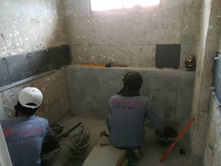 โครงการปรับปรุงห้องน้ำ 2 ห้อง ผลิตภัณฑ์ Cotto ทั้งชุด
