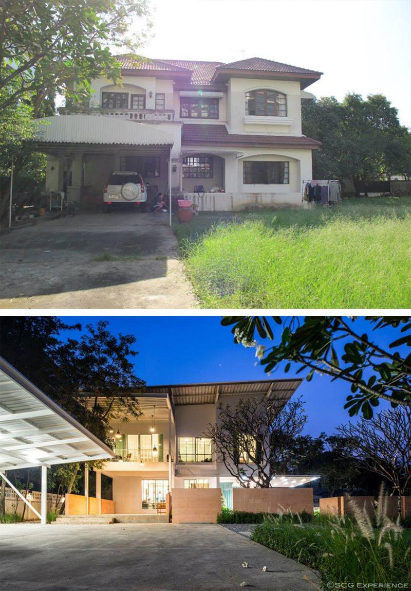 รีวิว รีโนเวทบ้าน 2 ชั้น ให้เป็นบ้านใหม่สไตล์โมเดิร์น 4
