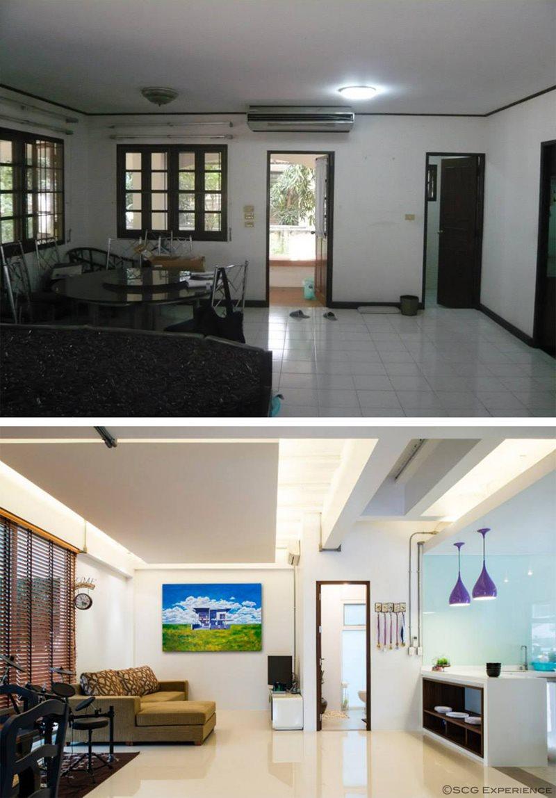 รีวิว รีโนเวทบ้าน 2 ชั้น ให้เป็นบ้านใหม่สไตล์โมเดิร์น 5