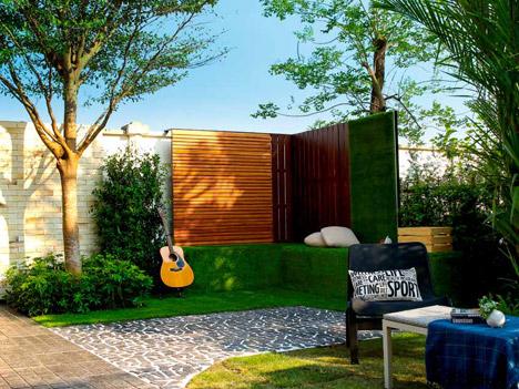 รีโนเวทสวนหน้าบ้านง่ายๆ เปลี่ยนสวนที่ว่างข้างบ้าน เป็นมุมนั่งเล่นสุดชิลล์