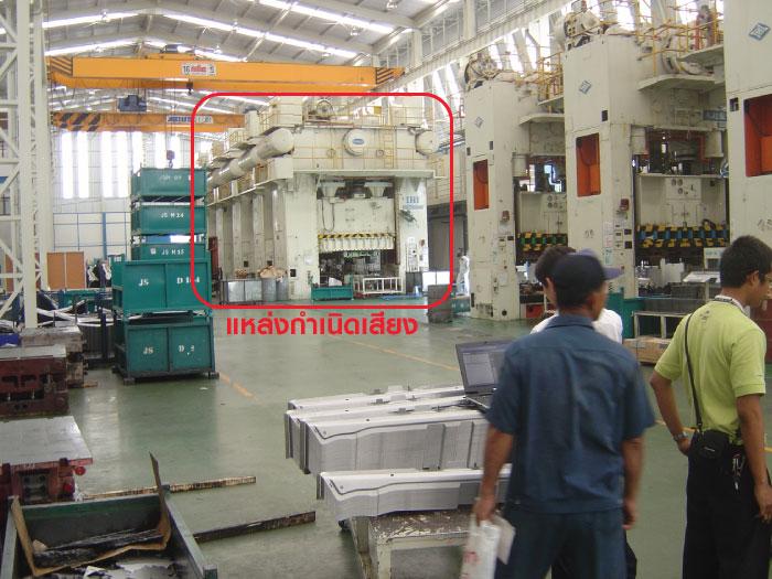 5 ขั้นตอนแก้ปัญหาเสียงดังจากเครื่องจักรในโรงงาน 2