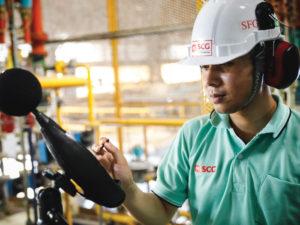 Read more about the article 5 ขั้นตอนแก้ปัญหาเสียงดังจากเครื่องจักรในโรงงาน