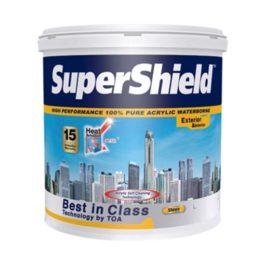 TOA สีน้ำเนียนทาภายนอก รุ่น Supershield ขนาด 2.5 แกลลอน
