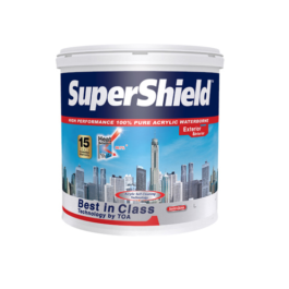 TOA Supershield ซุปเปอร์ชิลด์ สีน้ำกึ่งเงา ภายนอก G100