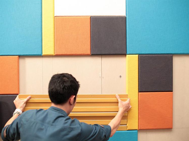 รีโนเวทห้องนั่งเล่นให้มีสีสันและได้ฟังก์ชั่นแบบโฮมเธียเตอร์ 3