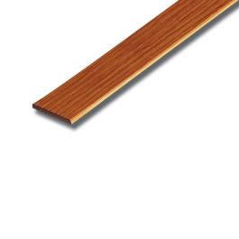 ไม้ระแนง SCG สีสักทองประกายเงาพลัส ขนาด 7.5x300x0.8 ซม.