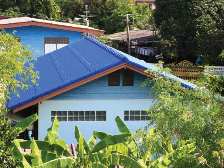 รีวิว เปลี่ยนหลังคาบ้าน สวยสดสะดุดตา จบปัญหาหลังคารั่วซึม 7