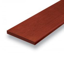 ไม้ตกแต่งบันได ลูกนอน เอสซีจี ขนาด 18X120X1.6 ซม. สีไม้แดง