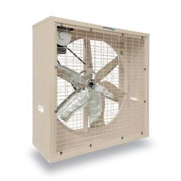 พัดลมระบายอากาศ 36 นิ้ว INDUSTRIAL FAN CTF-36G-3P series 380 V สีครีม