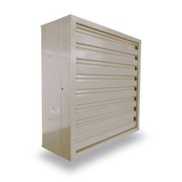 พัดลมระบายอากาศ 36 นิ้ว INDUSTRIAL FAN CTF-36S-1P series 220 V สีครีม
