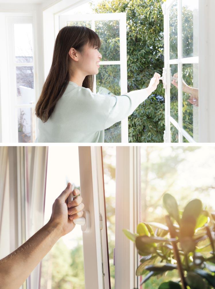 ทำบ้านให้ระบายอากาศได้ เพื่อสุขภาพที่ดี 1