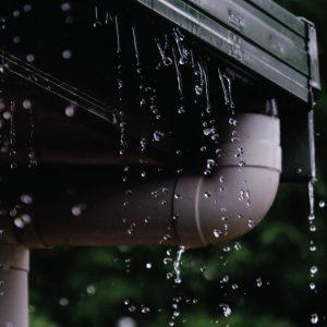 ไอเดียหลังคากันสาดกับการระบายน้ำฝน
