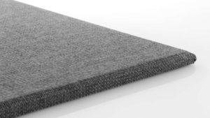 วัสดุอะคูสติก เอสซีจี รุ่น Cylence Zandera แผ่นมาตรฐาน สีเทา ขนาด 10x30x2.5 ซม.