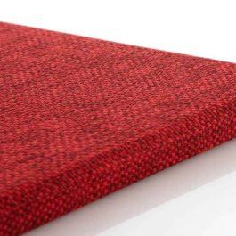 วัสดุอะคูสติก เอสซีจี รุ่น Cylence Zandera แผ่นมาตรฐาน สีแดง ขนาด 10x60x2.5 ซม.