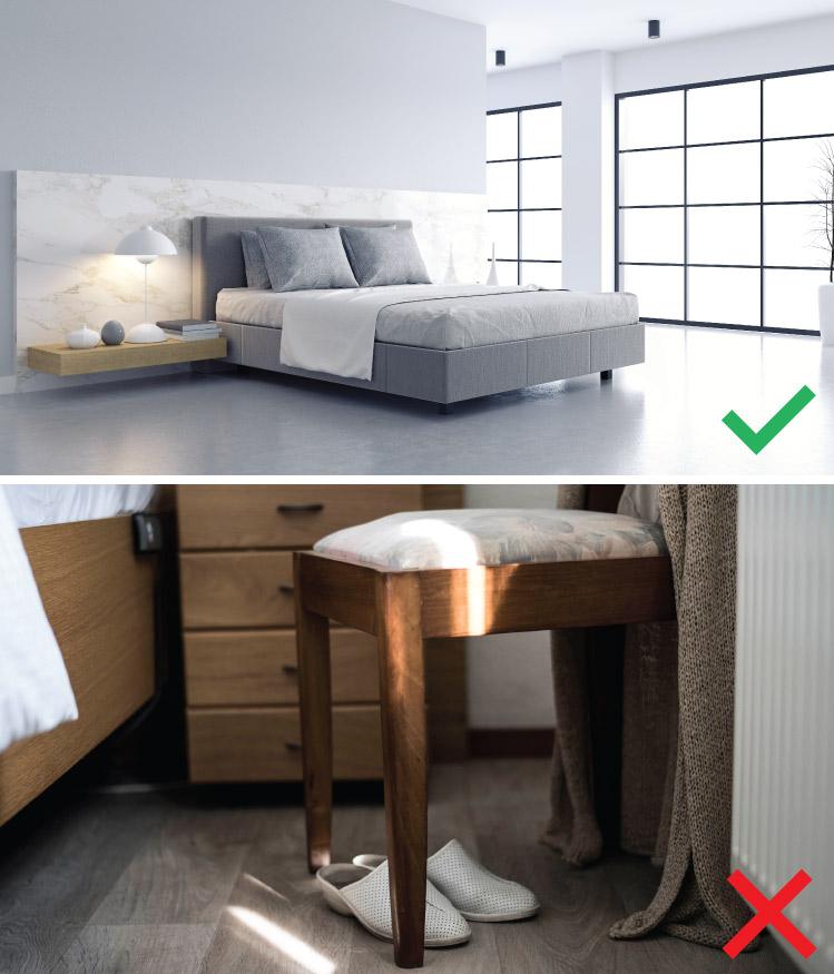 ห้องนอนที่ปลอดภัยใช้งานสะดวกสำหรับผู้สูงอายุ 8