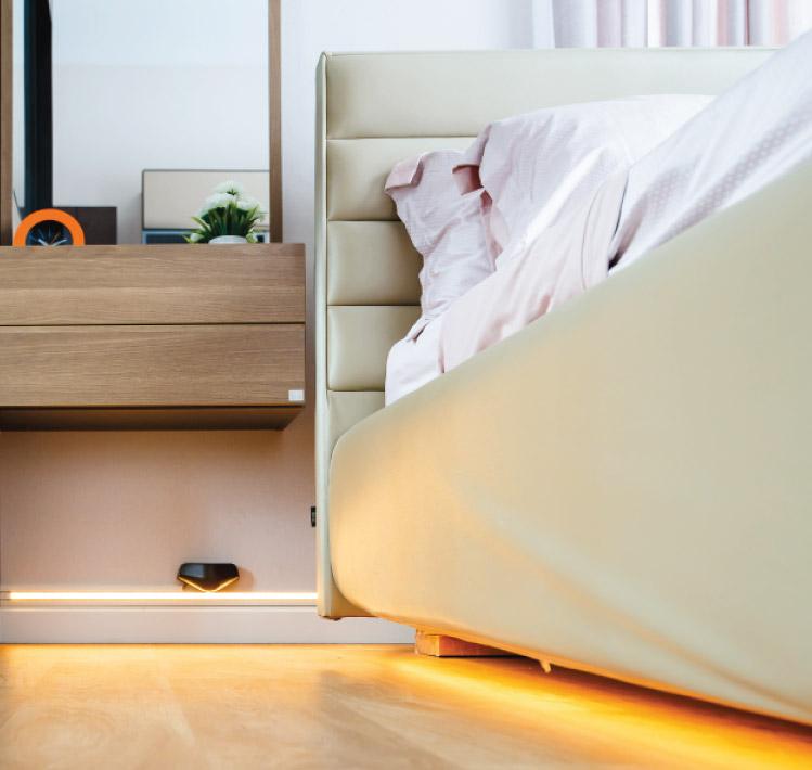 ห้องนอนที่ปลอดภัยใช้งานสะดวกสำหรับผู้สูงอายุ 12