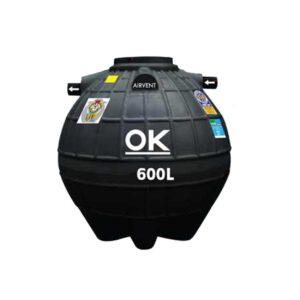 ถังบำบัด DOS รุ่น OK COMPACT ขนาด 600 ลิตร