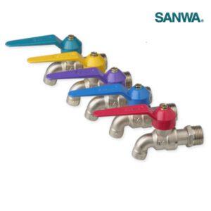 ก๊อกบอลแฟนซี ซันวา SANWA ขนาด 1/2 นิ้ว