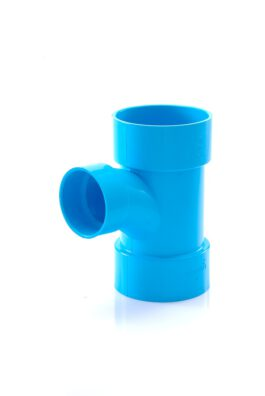 ข้อต่อสามทางทีวายลด พีวีซี เอสซีจี ระบบระบายน้ำ 65x55 มม.