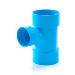 ข้อต่อสามทางทีวายลด พีวีซี เอสซีจี สีฟ้า ขนาด 150x100 มม.